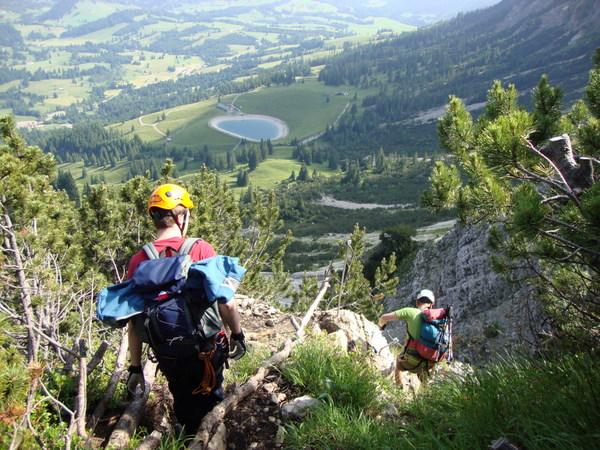 Klettersteig Salewa : Salewa ergo tex klettersteigset im test