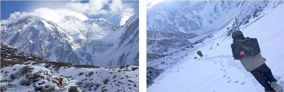 The North Face® Nanga Parbat Winterexpedition -  Das Tagebuch der Expedition von Simone Moro und Denis Urubko