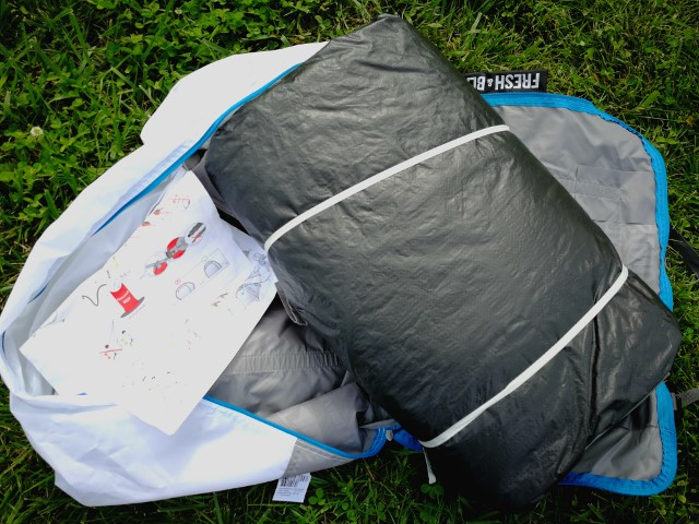Quechua Campingzelt Air Seconds Family 4 XL Fresh & Black