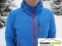 Die R'ADYS R5 Insulated Jacket in der Farbe skyblue