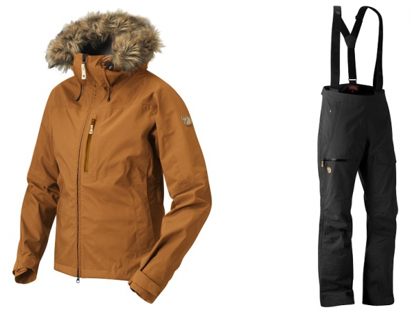 Fjällräven Eco-Tour Jacket and Trousers - Ökologische Winter-Funktionsbekleidung